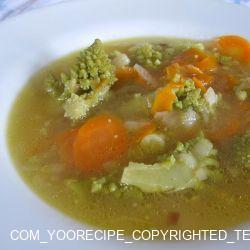 Sopa de Coliflor, Romanescu y Calabaza